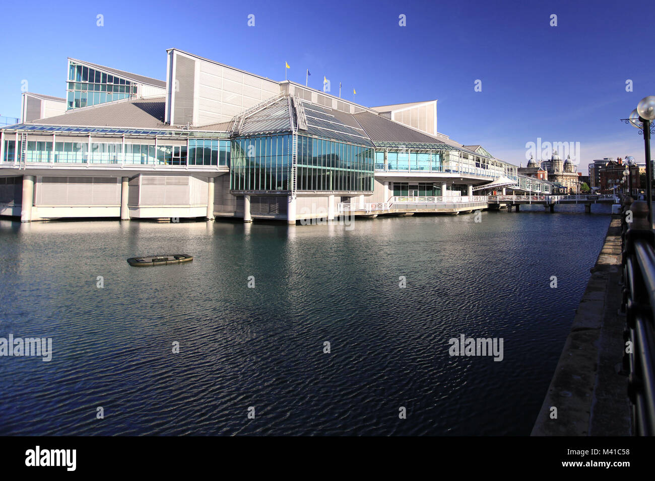 Princess Quay Shopping Centre, Princes Dock Street, Hull, Großbritannien Stockfoto