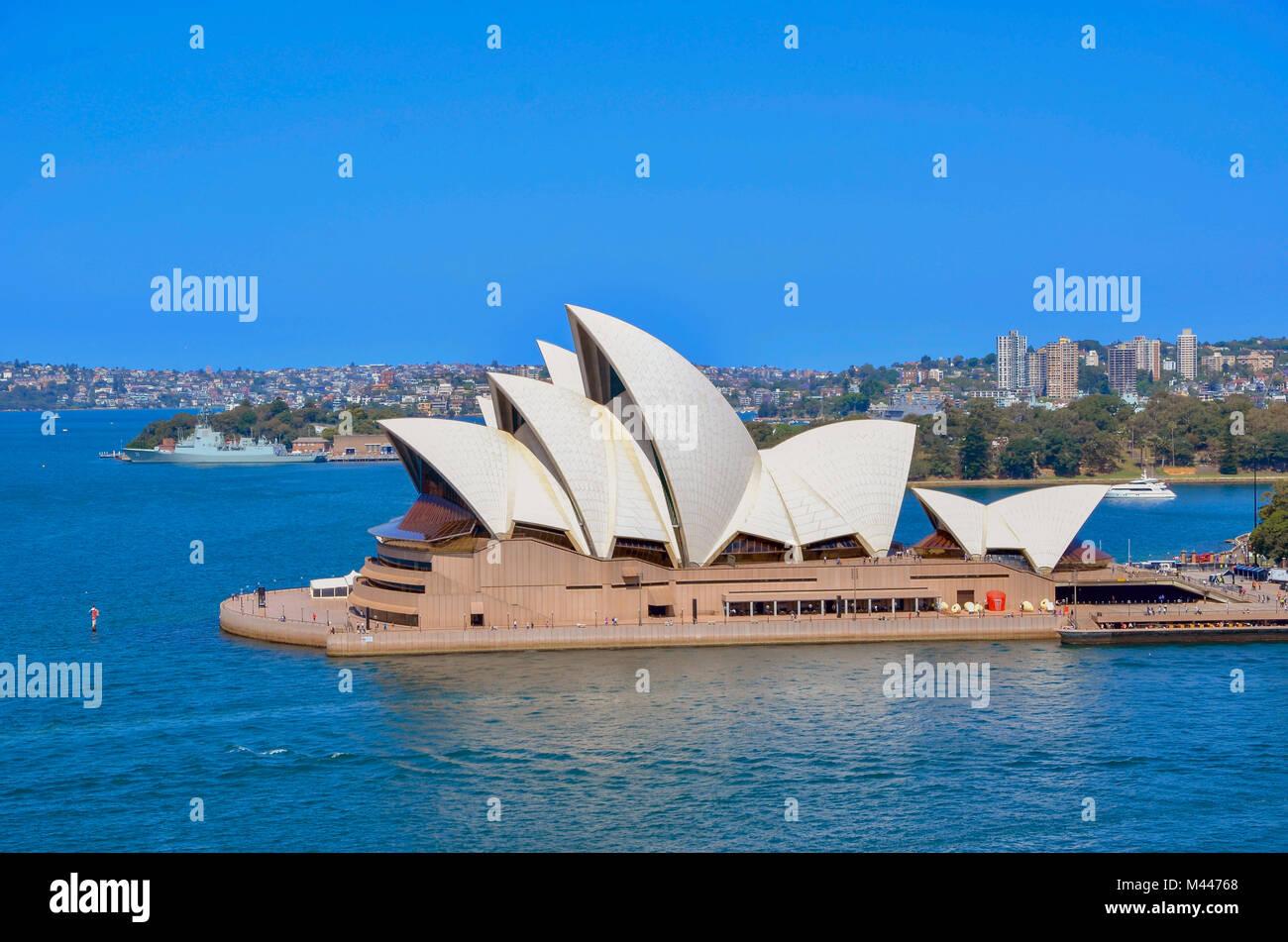 Das Opernhaus von Sydney, Australien, NSW - Opernhaus Sydney, NSW, Australien Stockbild