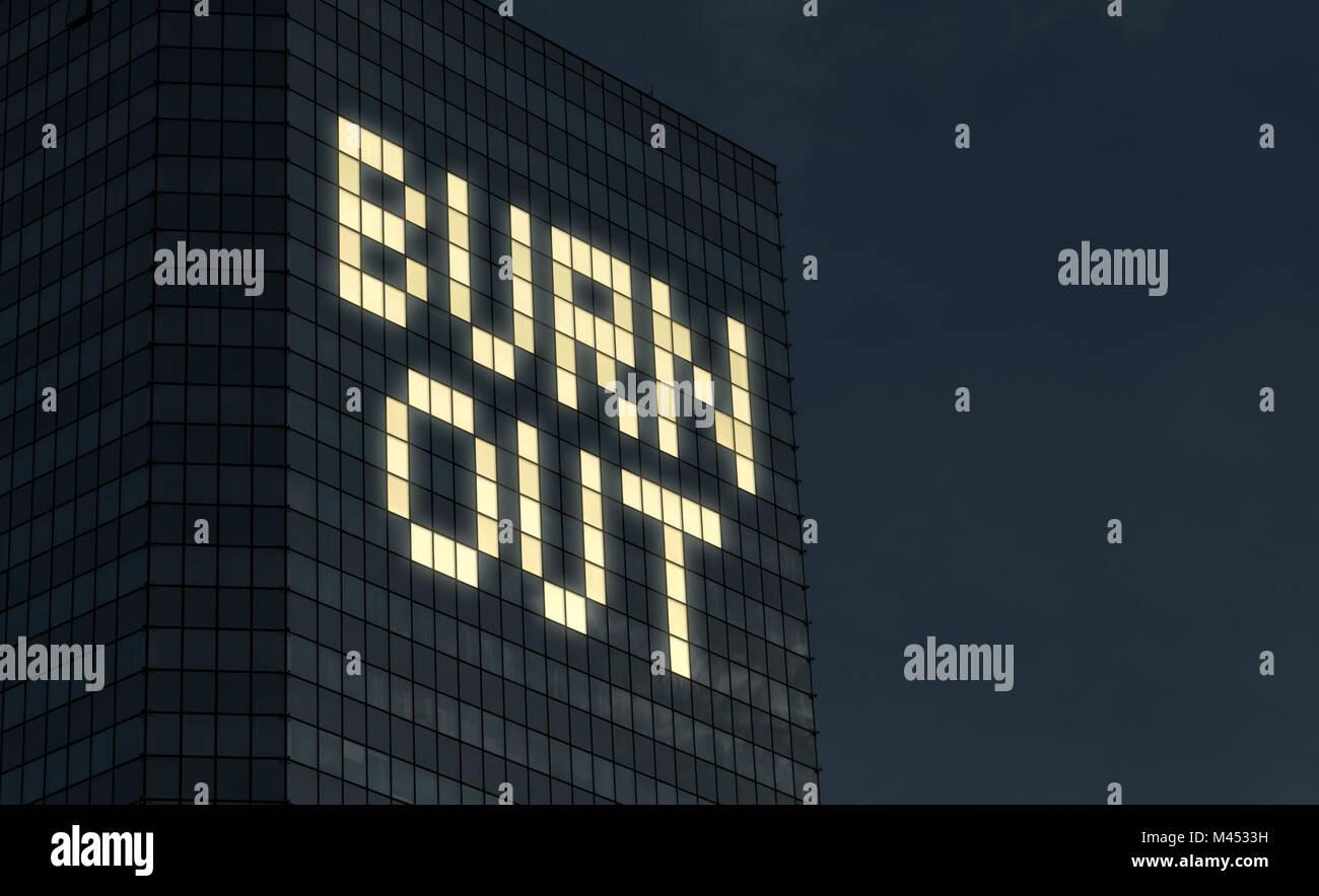 """""""Burnout""""-Konzept. Erschöpfung und Stress von zu viel Dinge im Job zu tun. Stress Überstunden Stockbild"""