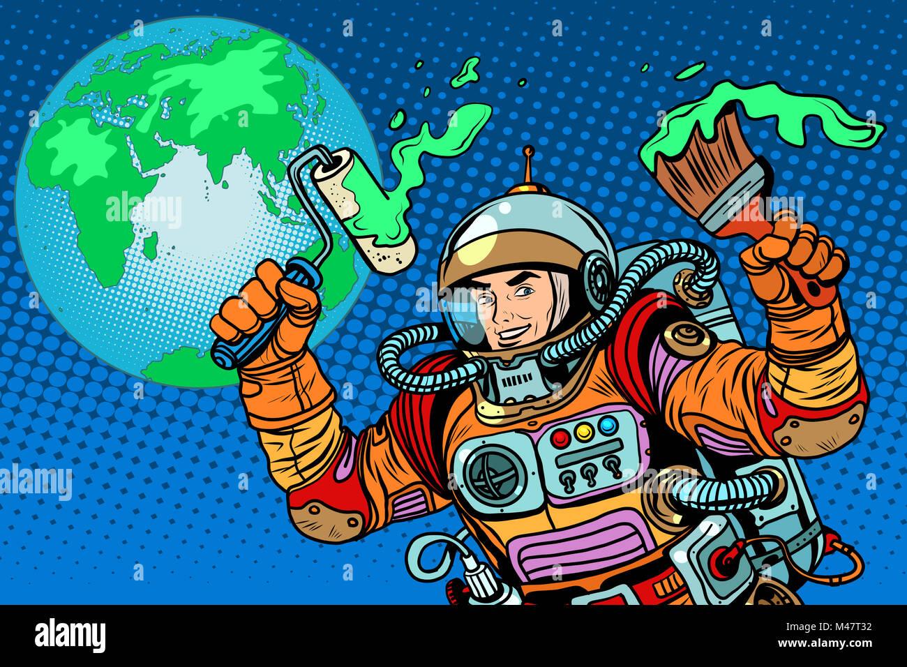 Beste Astronaut Malseite Galerie - Malvorlagen Von Tieren - ngadi.info