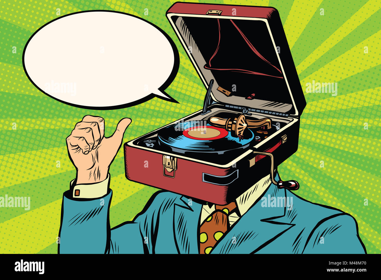 Illustration Of Gramophone Stockfotos & Illustration Of Gramophone ...