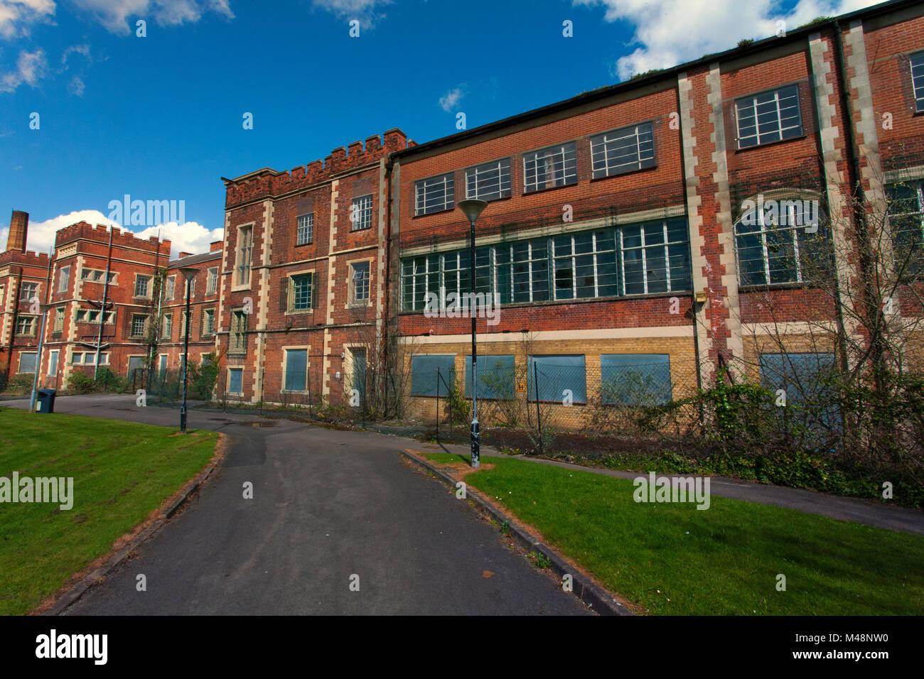 Springfield psychiatrischen Krankenhaus, Tooting, London, England, UK. Credit: London Snapper Stockbild