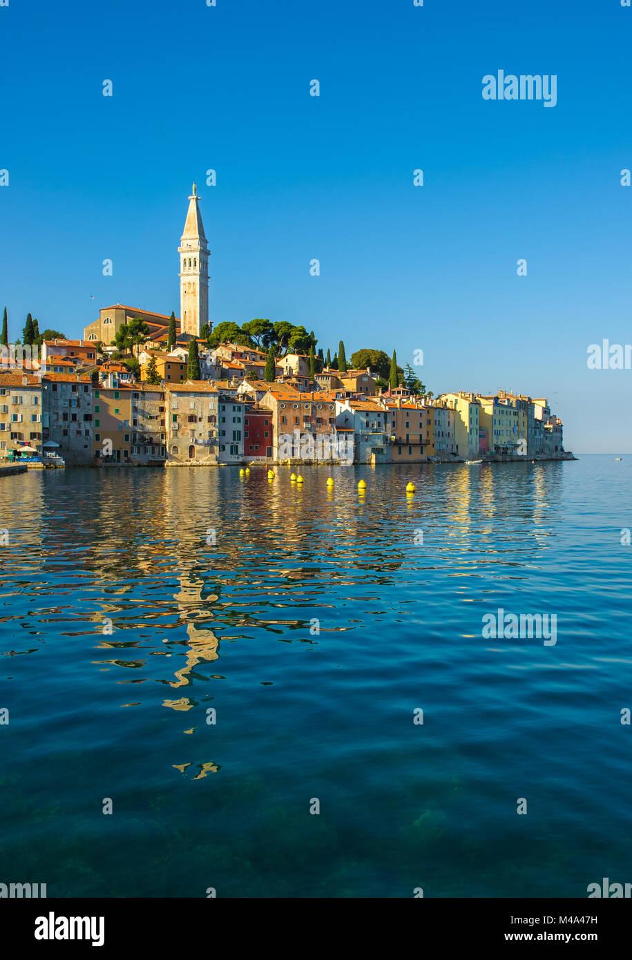 Altstadt von Rovinj, Istrien, Kroatien Stockbild