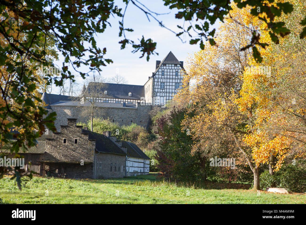 Burg Herrnstein, Nordrhein-Westfalen, Deutschland Stockbild