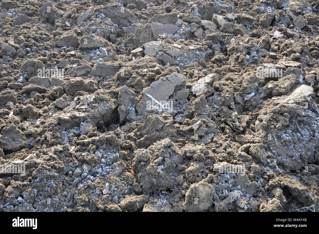 soil frost stockfotos soil frost bilder alamy. Black Bedroom Furniture Sets. Home Design Ideas