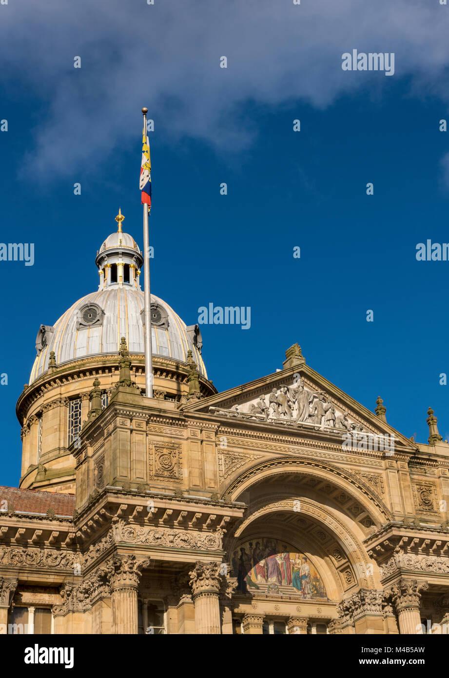 Stadt Szenen aus Birmingham, Großbritannien Stockfoto