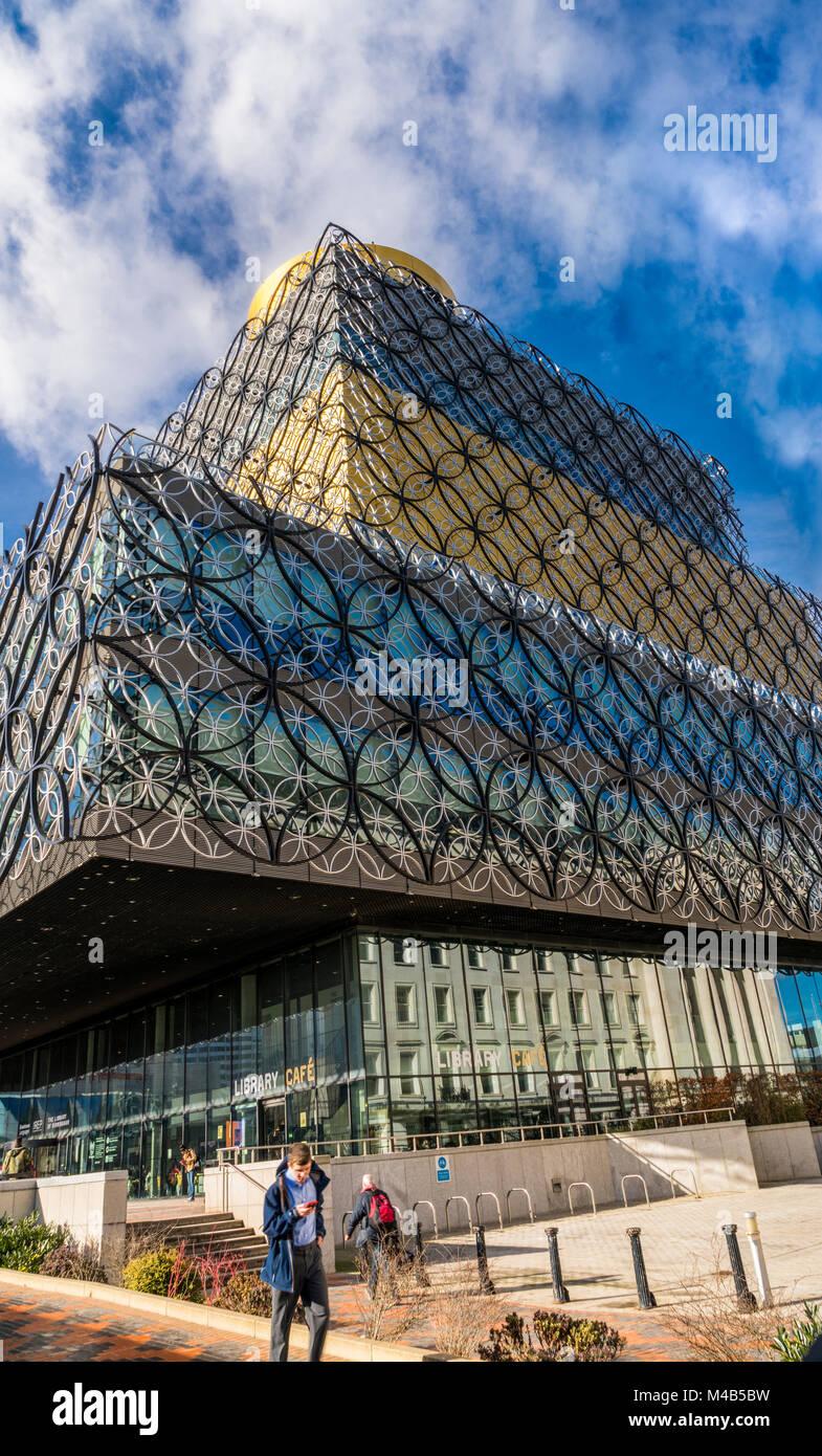 Stadt Szenen aus Birmingham, Großbritannien Stockbild