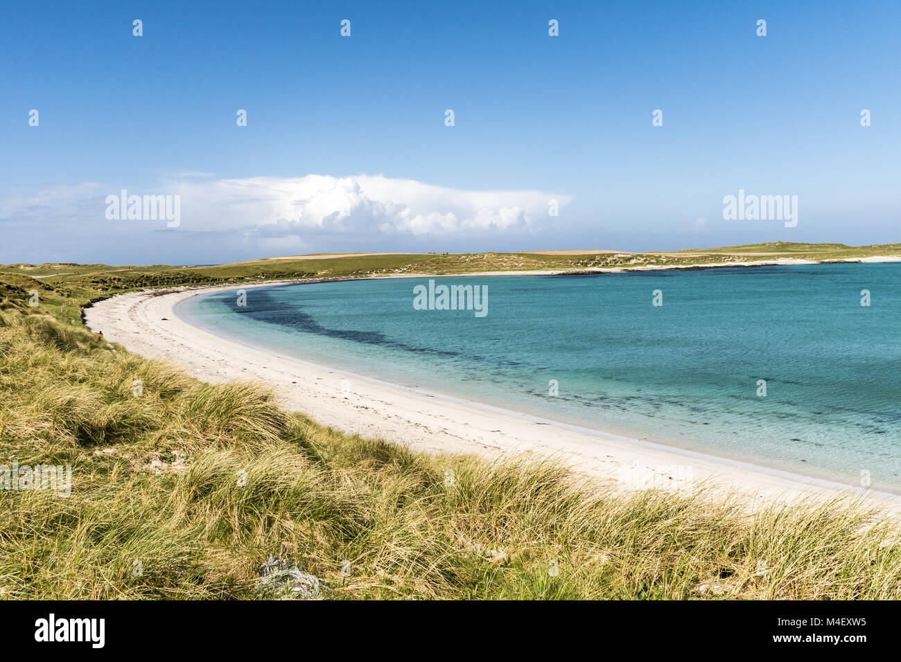 Schottland - North Uist Stockfoto