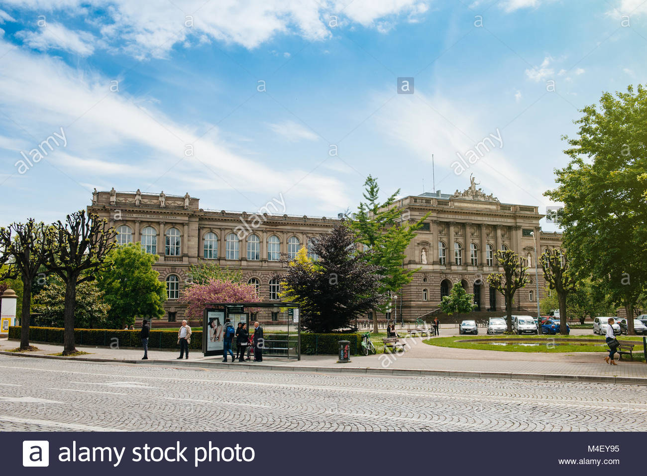 Straßburg Universität Louis Pasteur in Frankreich Straßburg Stockbild