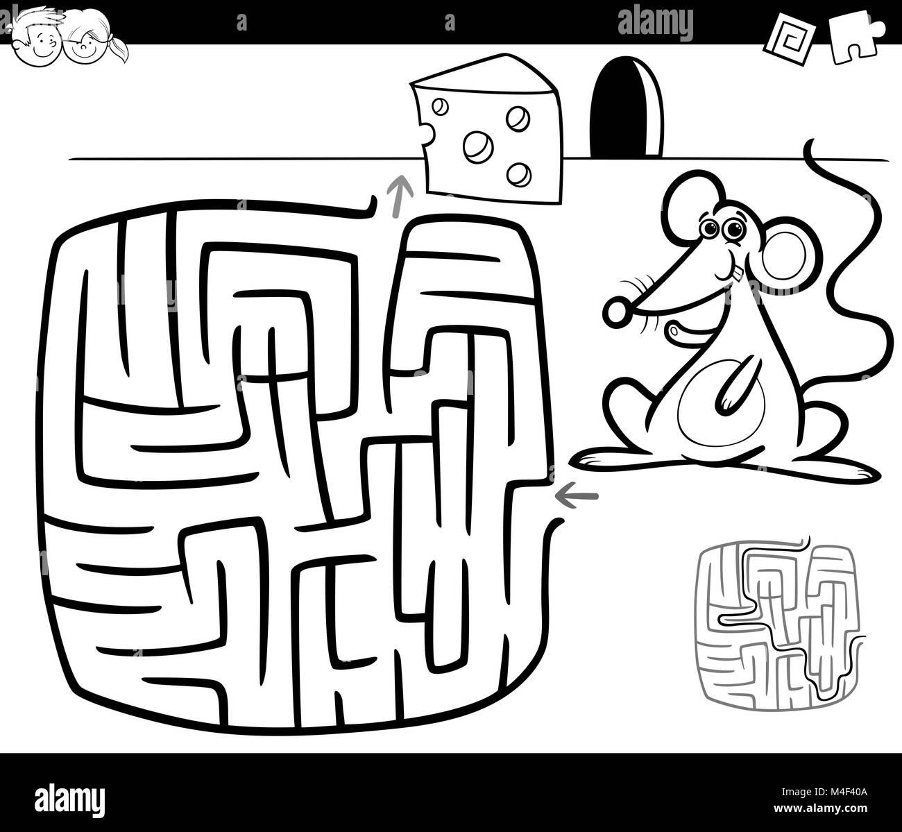 Mouse Maze Stockfotos & Mouse Maze Bilder - Alamy