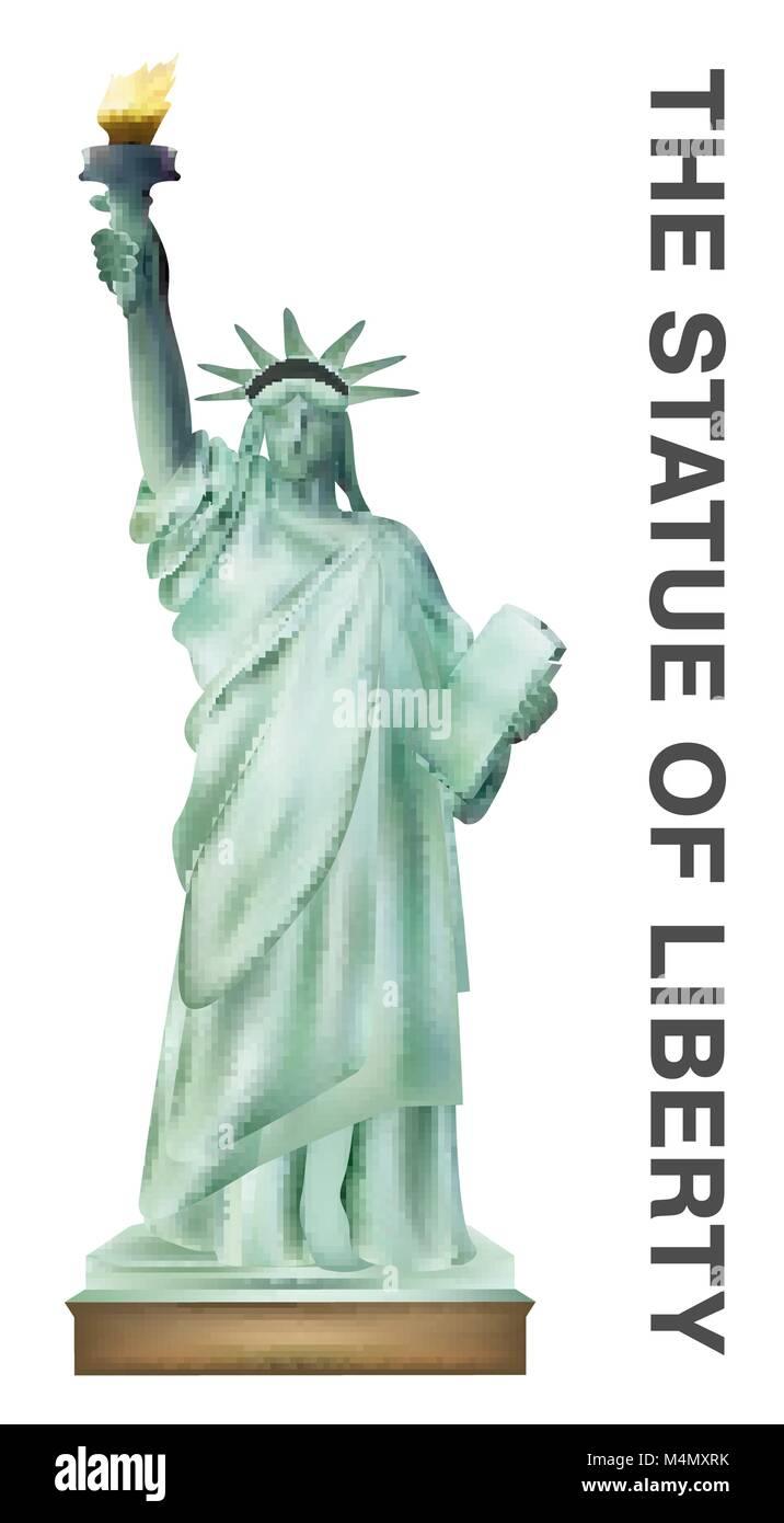 Independence Statue Usa Landmark Design Stockfotos & Independence ...
