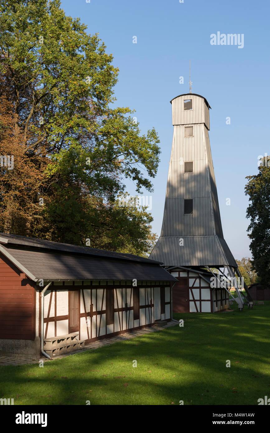 Salinenpark Bad Rappenau, Baden-Württemberg, Deutschland, Europa Stockbild