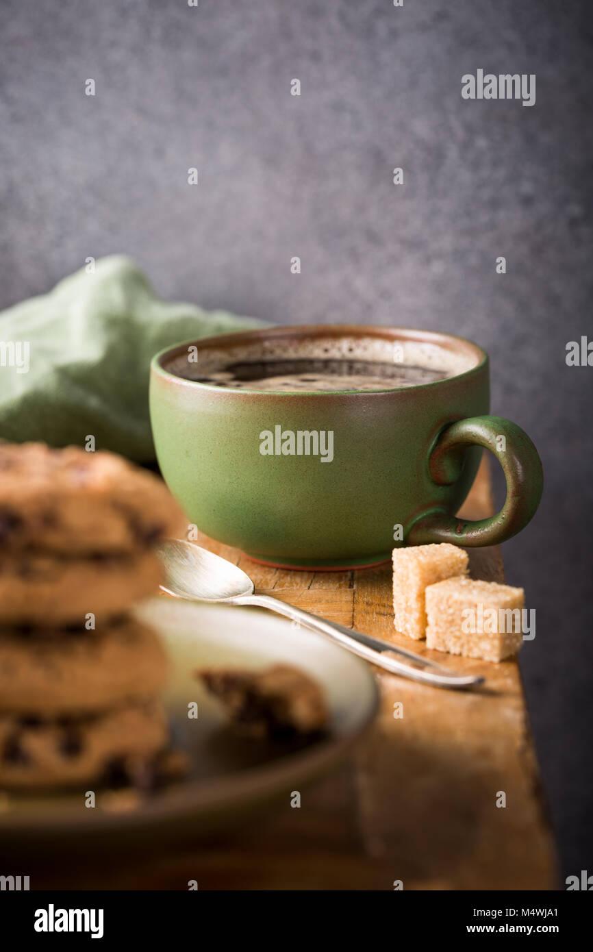 Chocolate Chip cookies Stockbild