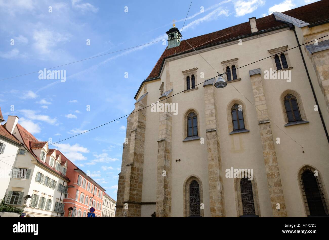 cathedral in graz stockfotos cathedral in graz bilder alamy. Black Bedroom Furniture Sets. Home Design Ideas