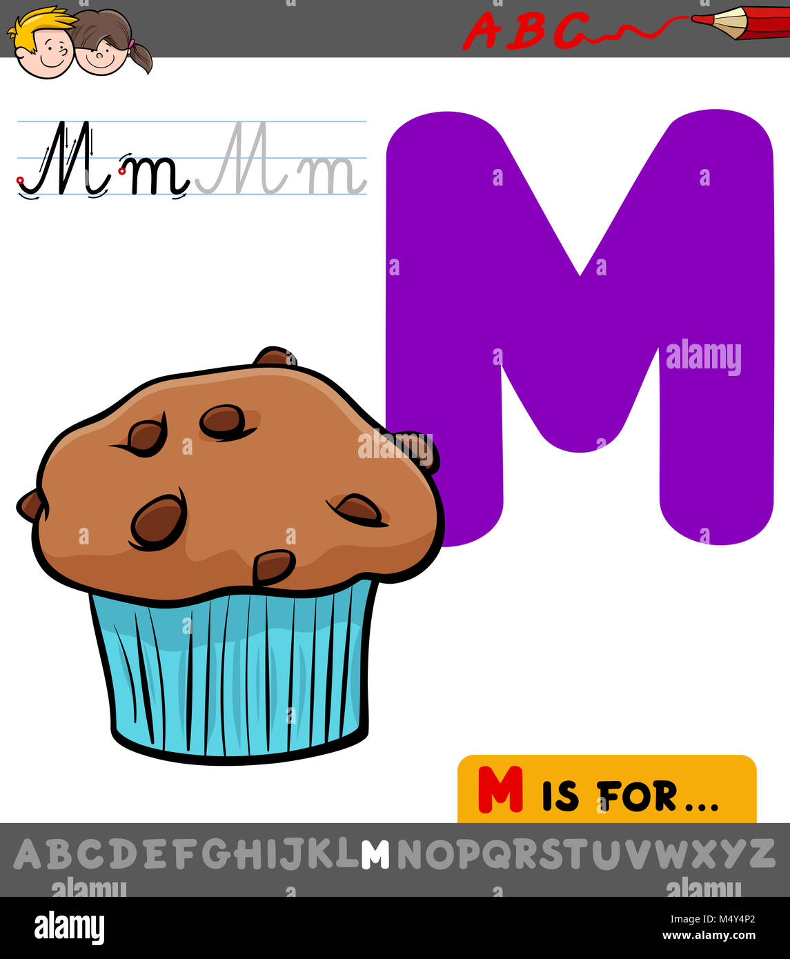 Cartoon Letter M Stockfotos & Cartoon Letter M Bilder - Alamy