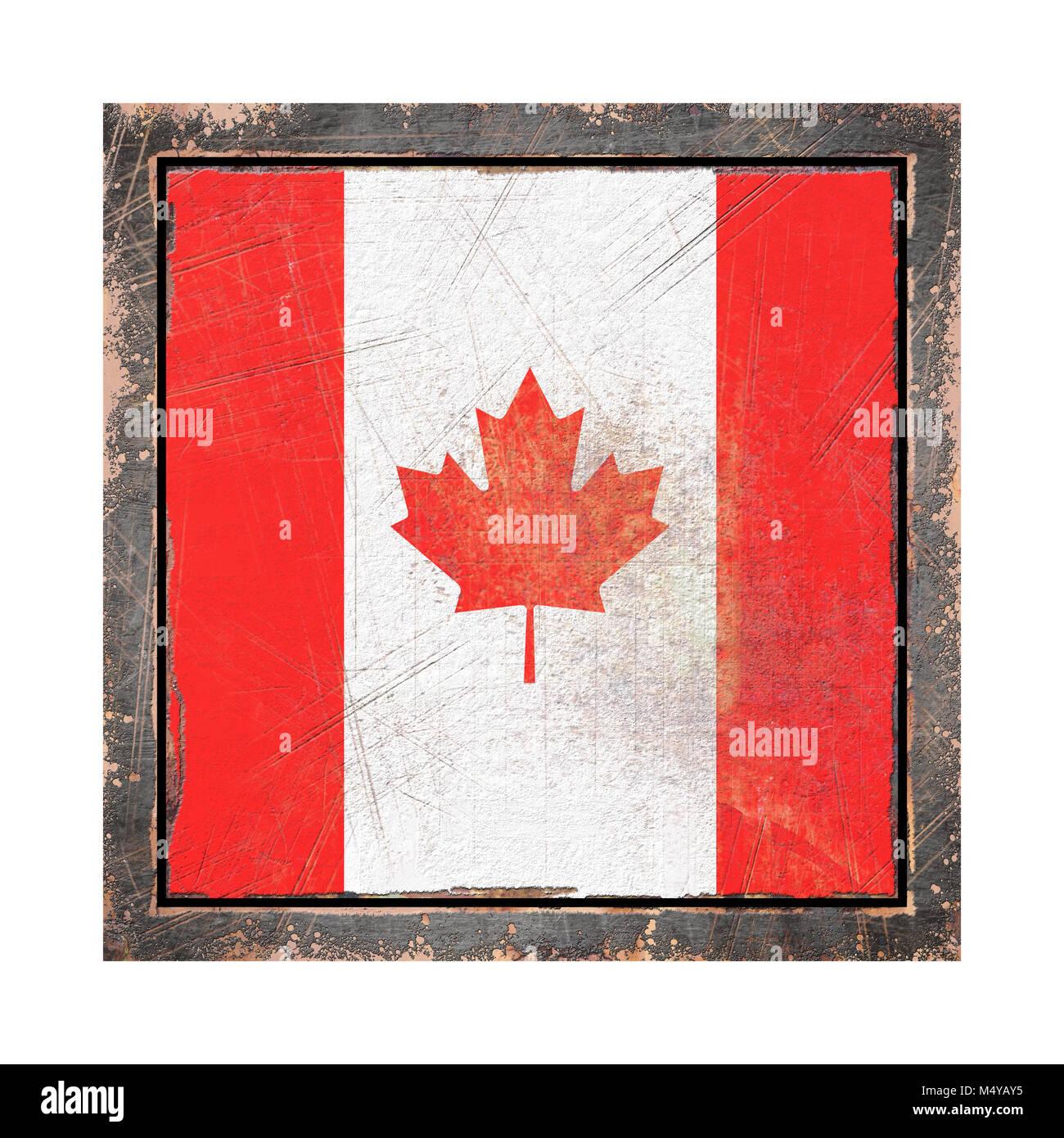 Canada Grunge Flag Stockfotos & Canada Grunge Flag Bilder - Seite 2 ...