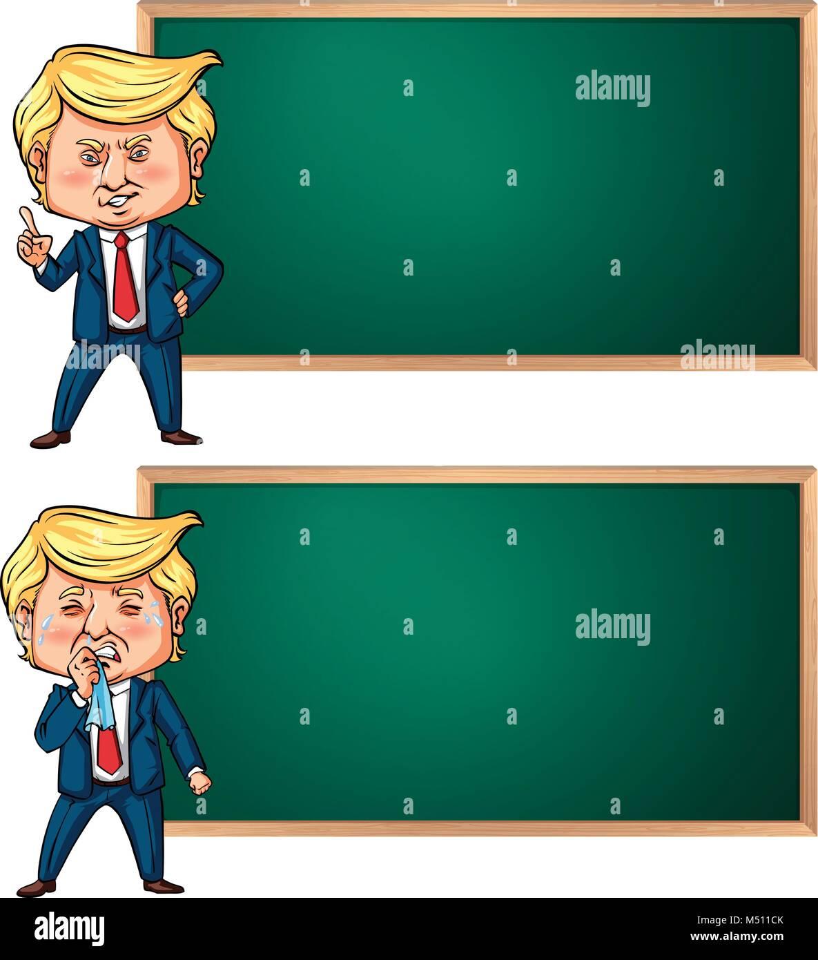 President Donald Trump Hair Stockfotos & President Donald Trump ...