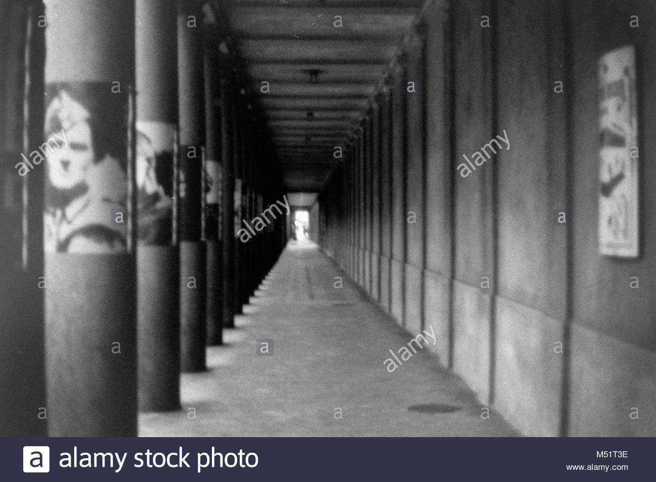 Passage in Kopenhagen Stockbild