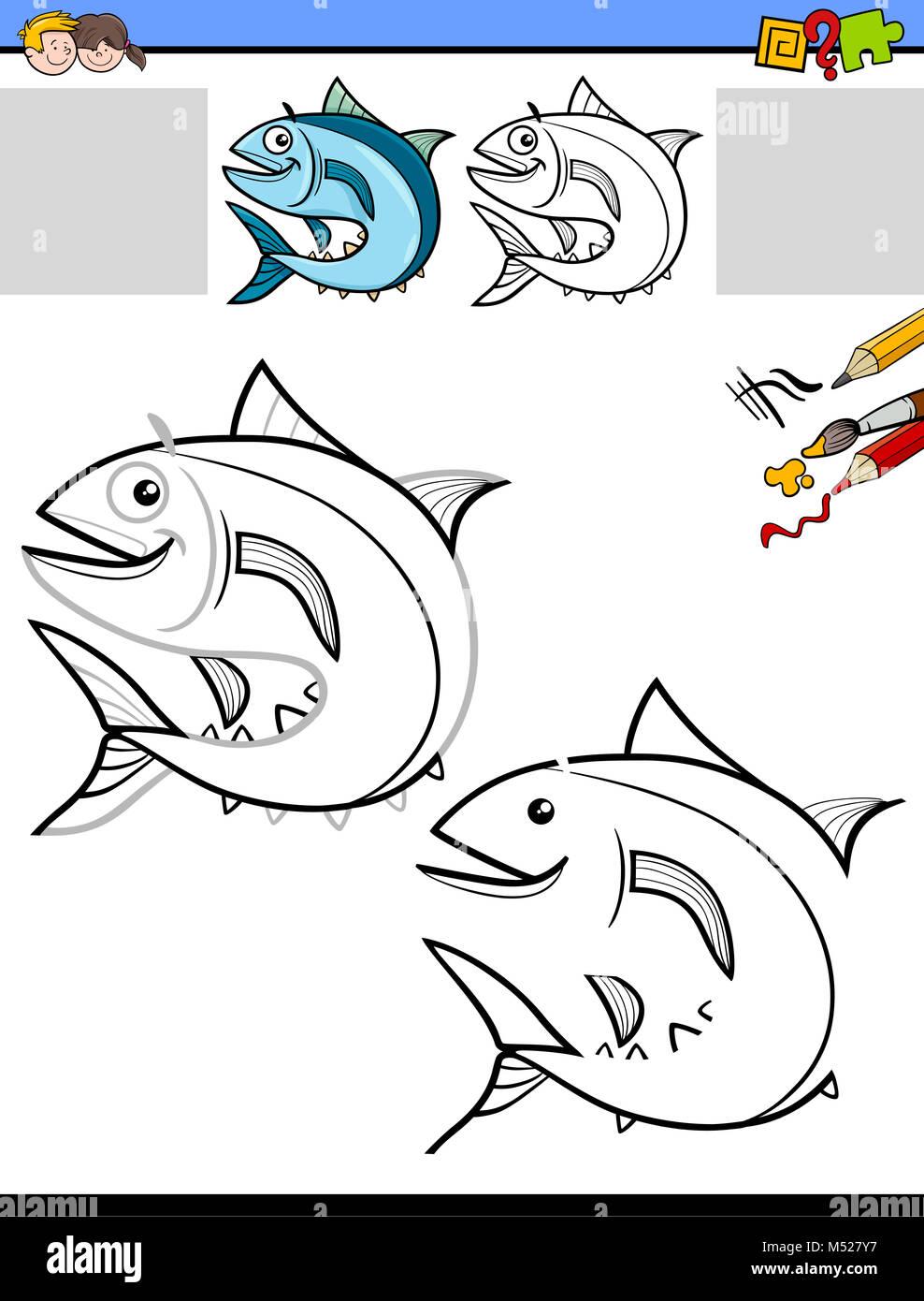 Fish Drawing Stockfotos & Fish Drawing Bilder - Alamy
