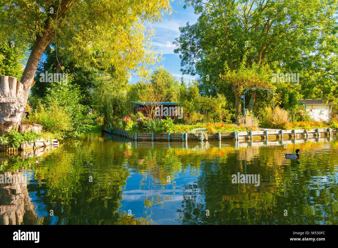 Amiens Schwimmende Gärten