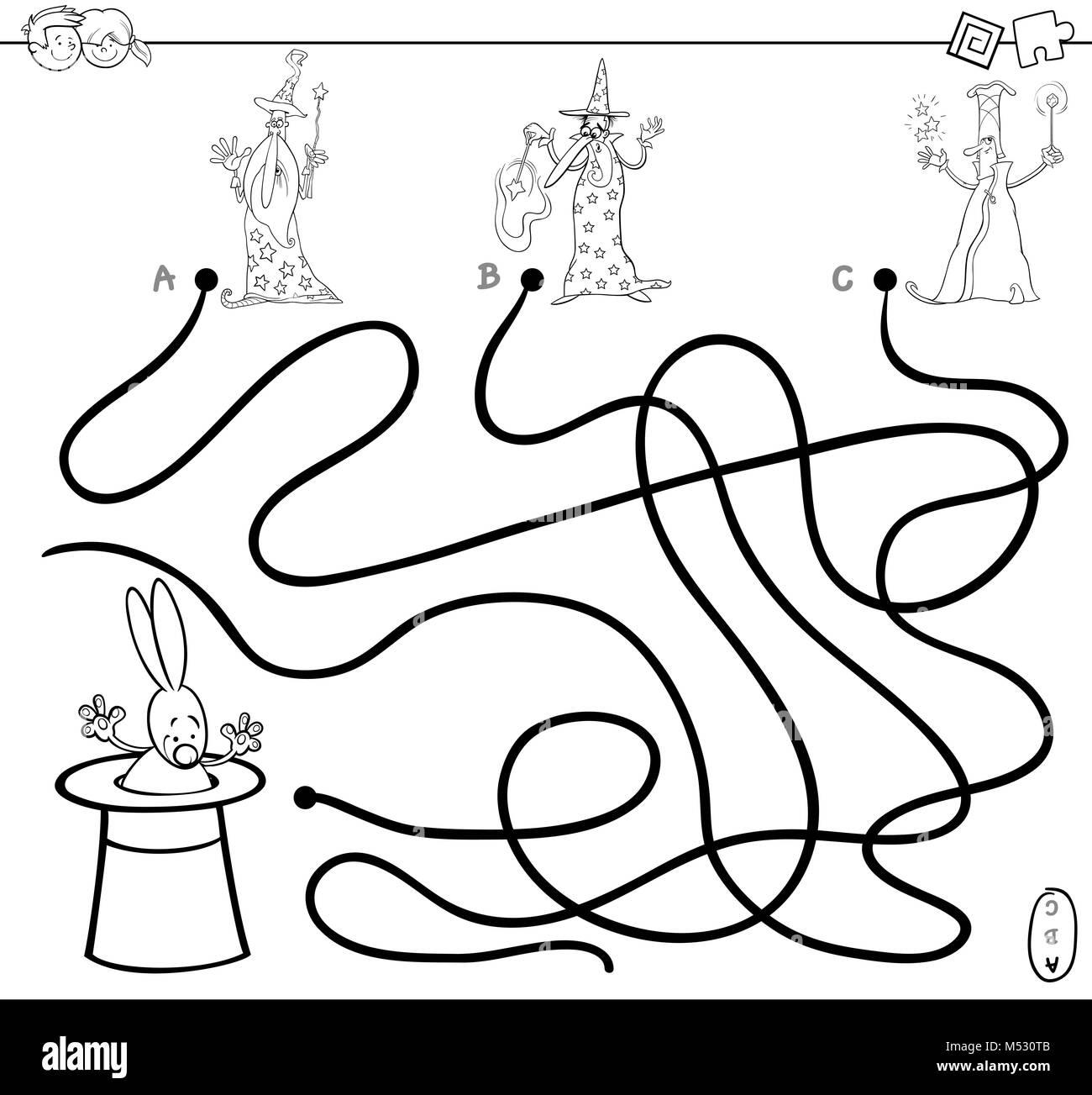 Gemütlich Labyrinth Färbung Seite 2 Bilder - Framing Malvorlagen ...