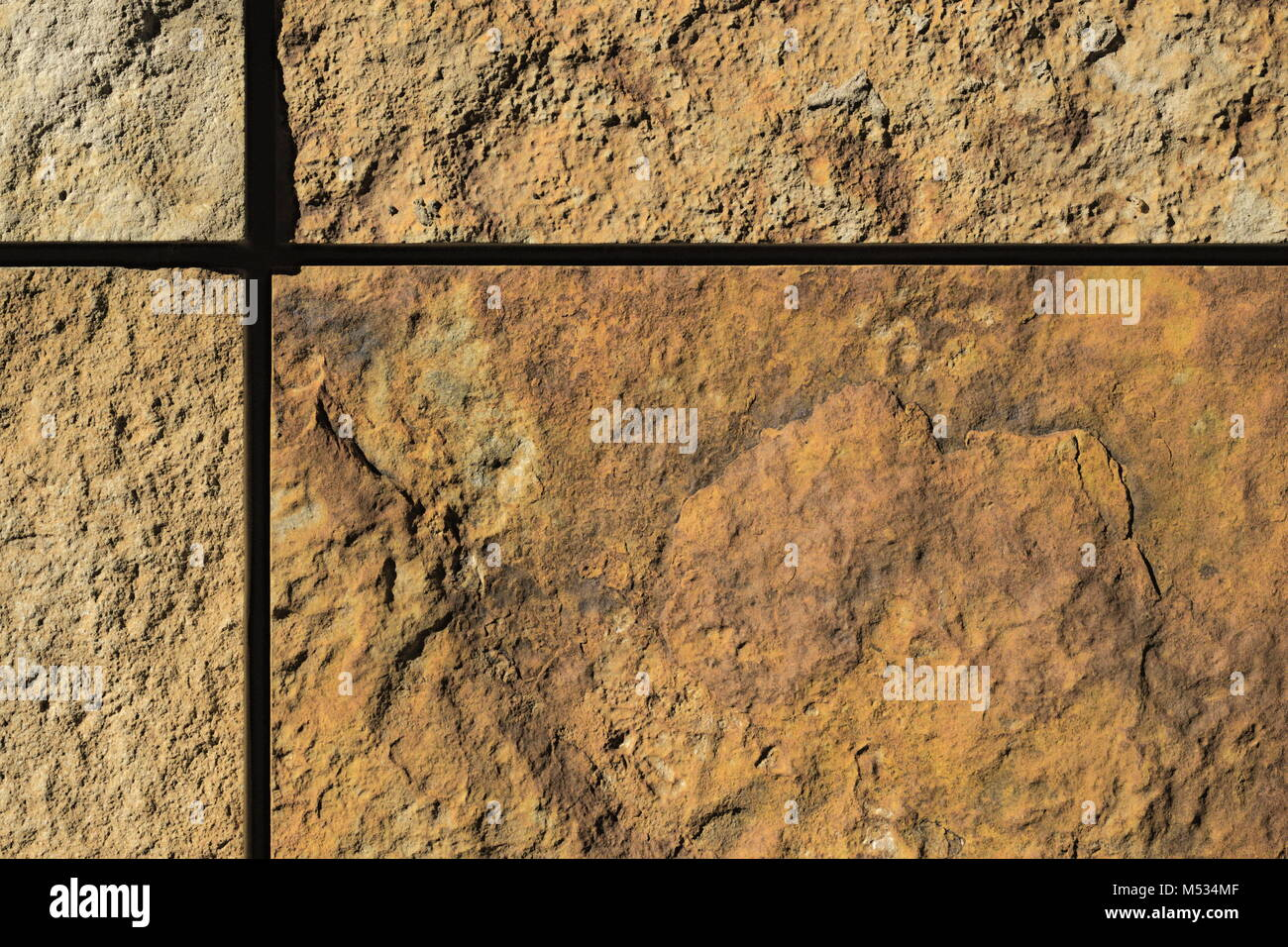 Fassade Aus Naturstein Platten Stockfoto Bild 175246527 Alamy