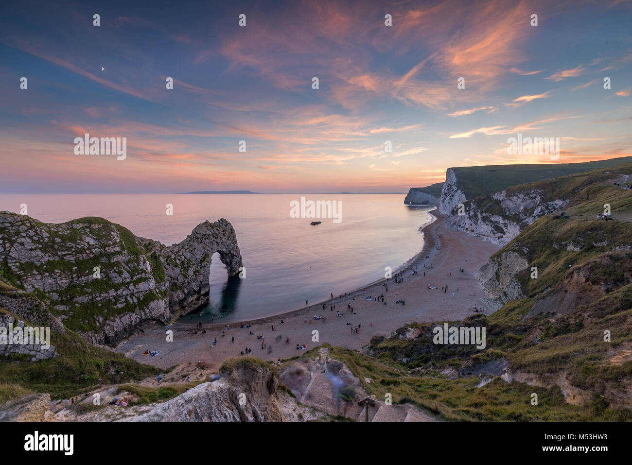 Durdle Door in Dorset Stockfoto