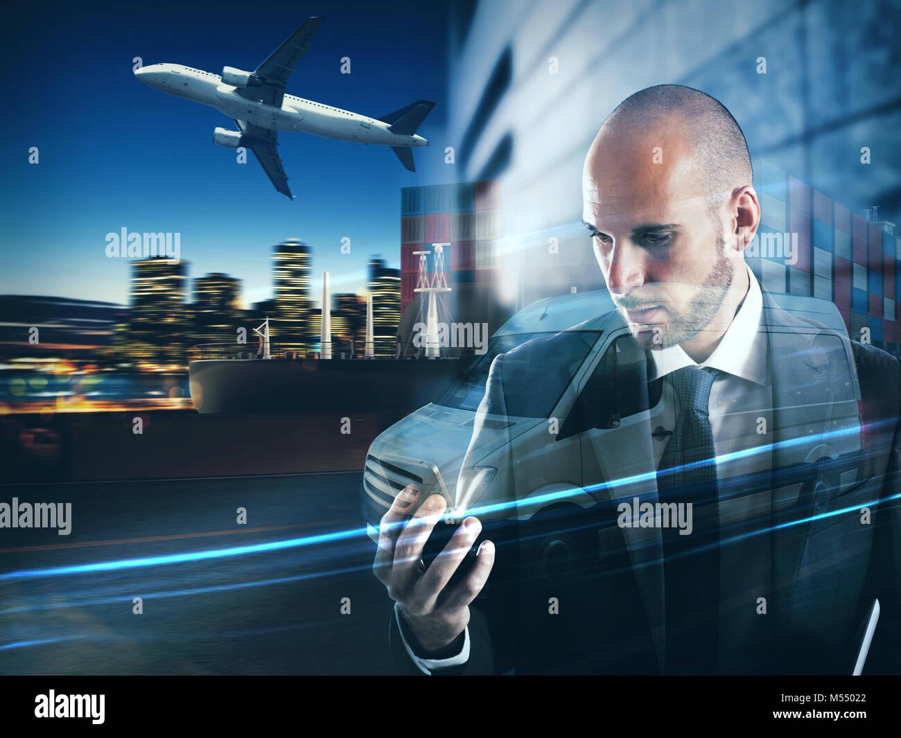 Konzept der Zuverlässigkeit und Engagement eines Unternehmens. 3D-Rendering Stockbild