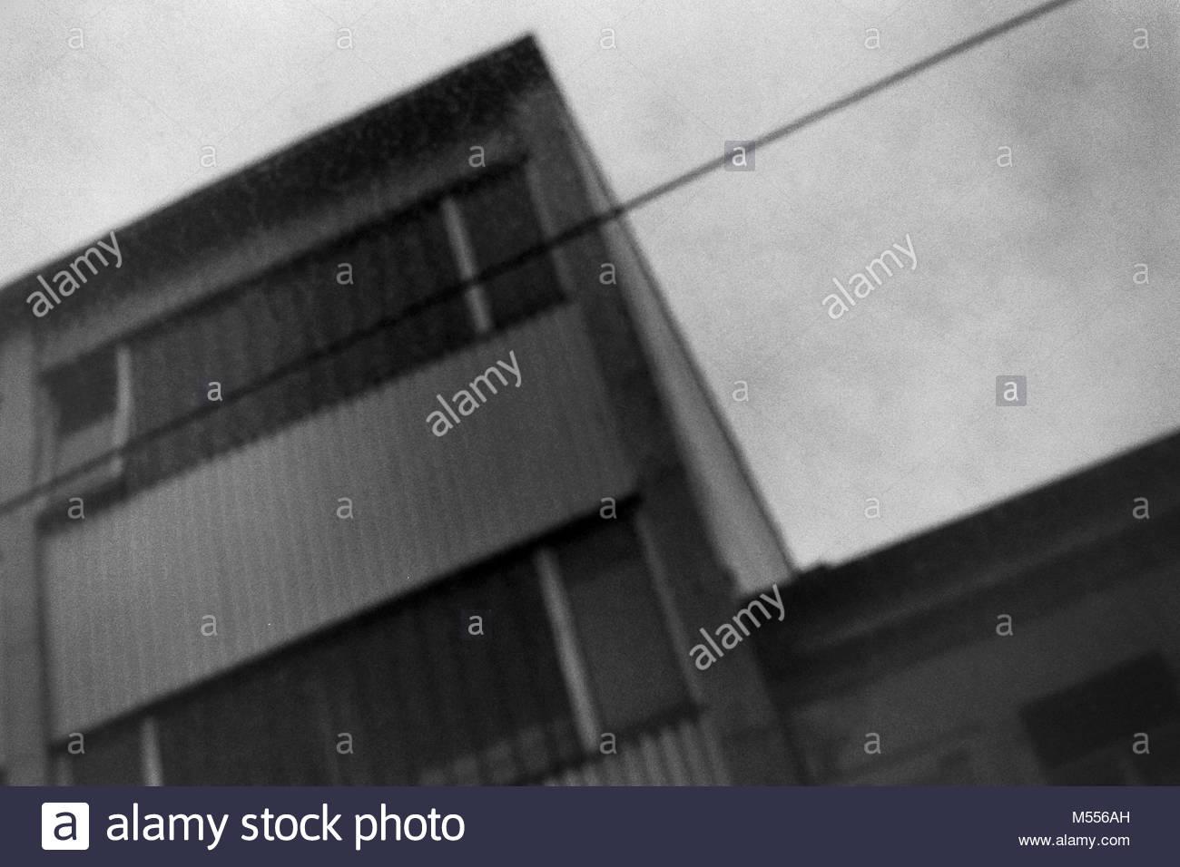 Haus Wand Gebäude Stockbild