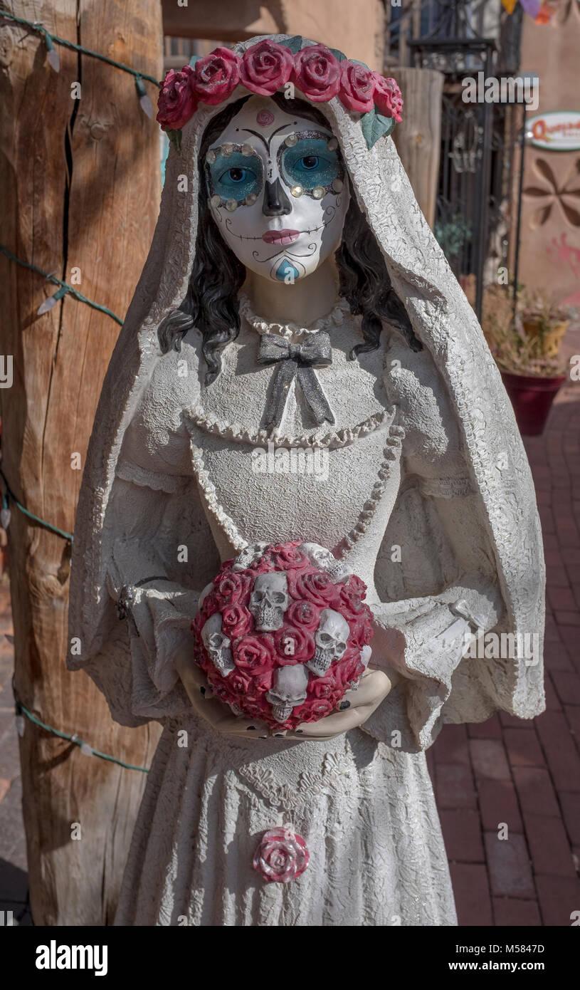 """Tag der Toten"" Folk lore Objekte Stockbild"