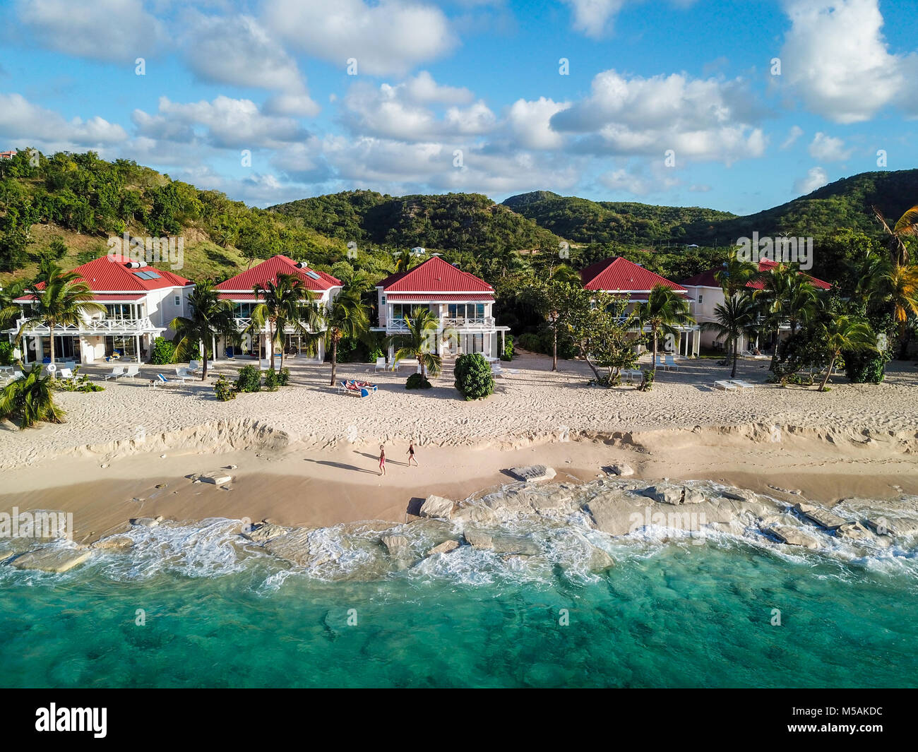 Galley Bay Beach Resort und Spa, Antigua Stockbild
