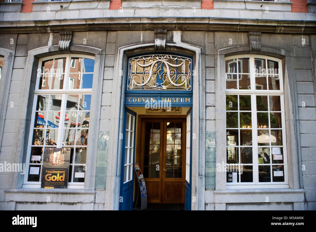 Couven-Museum, Aachen, Aix-la-Chapelle, Nordrhein-Westfalen, Deutschland Stockbild