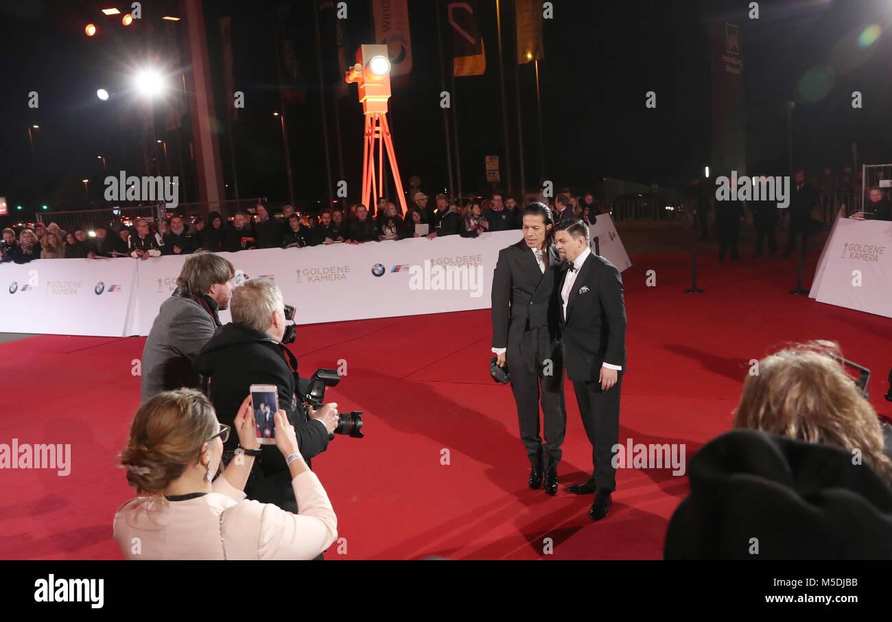 Hamburg, Deutschland. 22 Feb, 2018. Goldene Kamera Verleihung: Jorge ...
