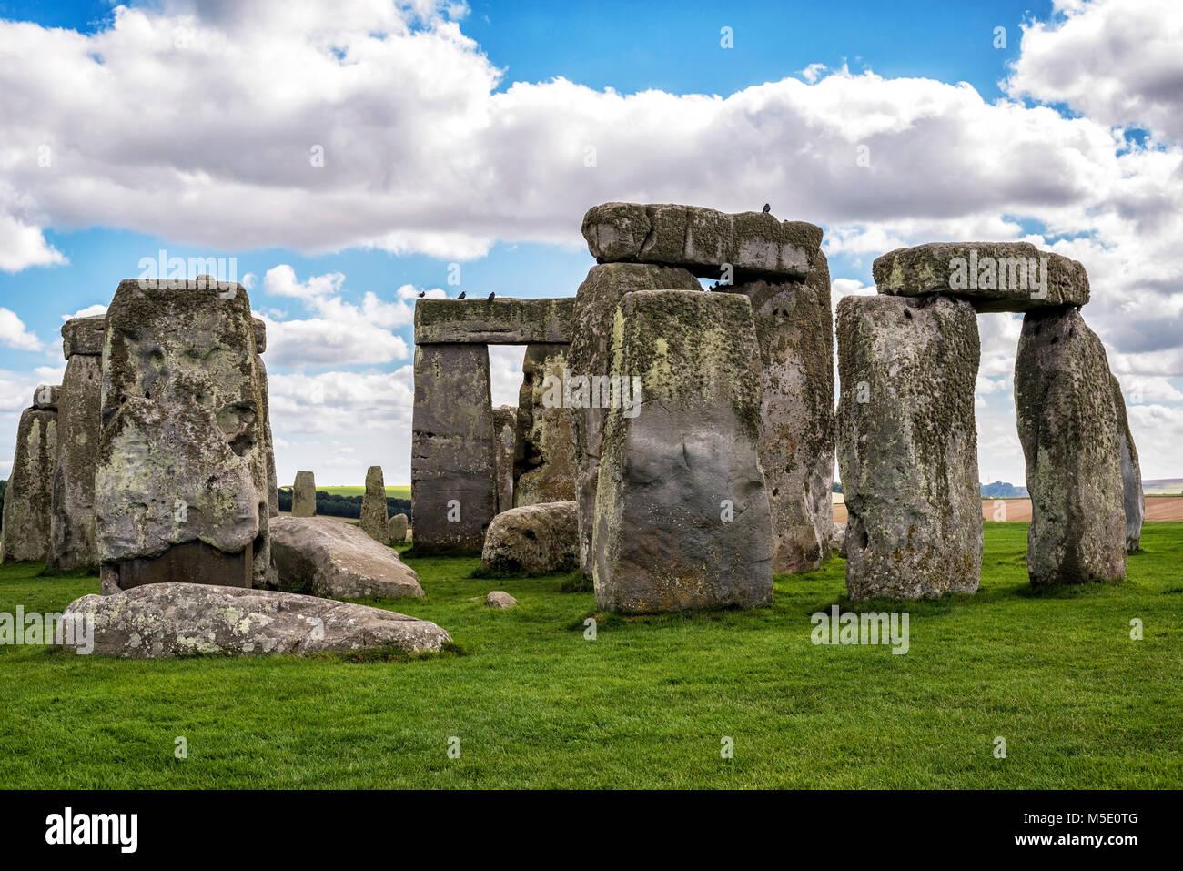 Stonehenge - Vereinigtes Königreich Stockbild