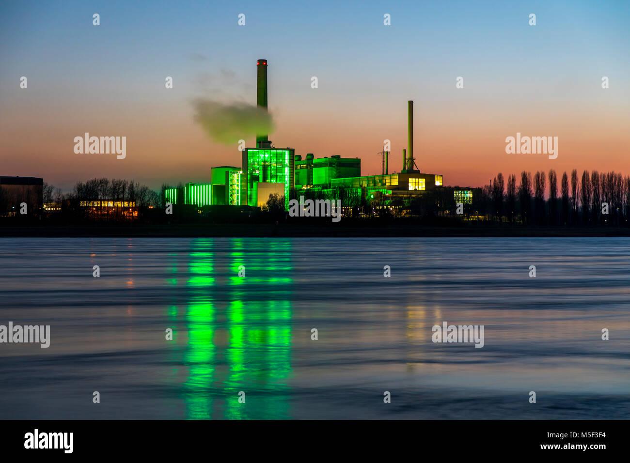 Die Lausward Kraftwerk In D Sseldorf Gas Und