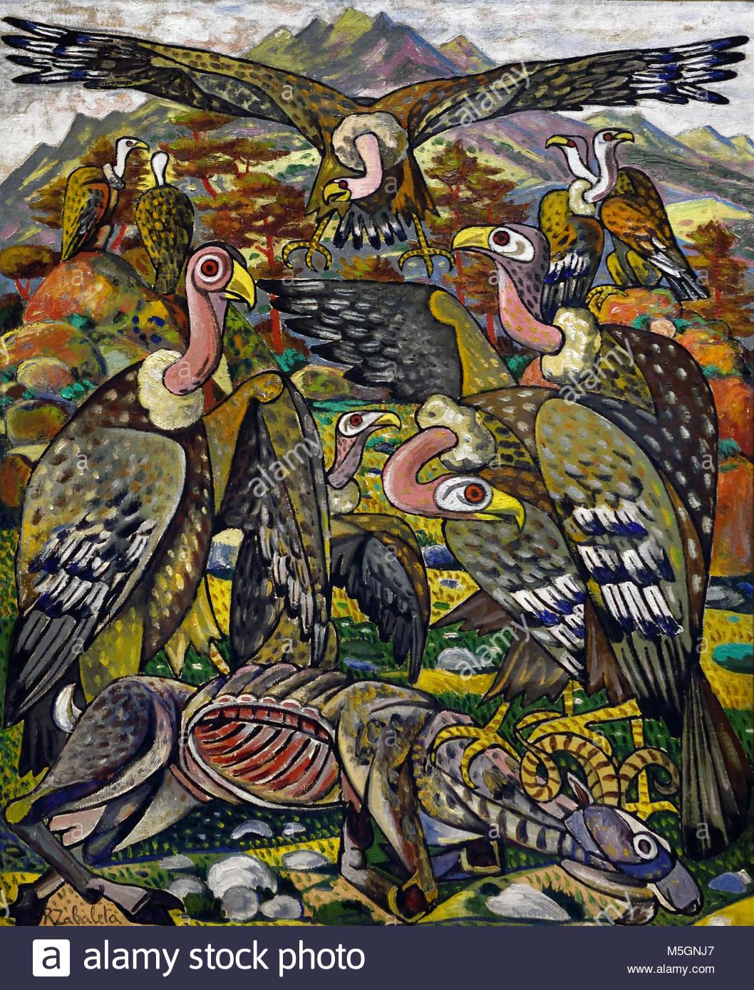 Geier 1955 Rafael Zabaleta Quesada 1907-1960 20., Jahrhundert, Spanien, Spanisch, Stockbild
