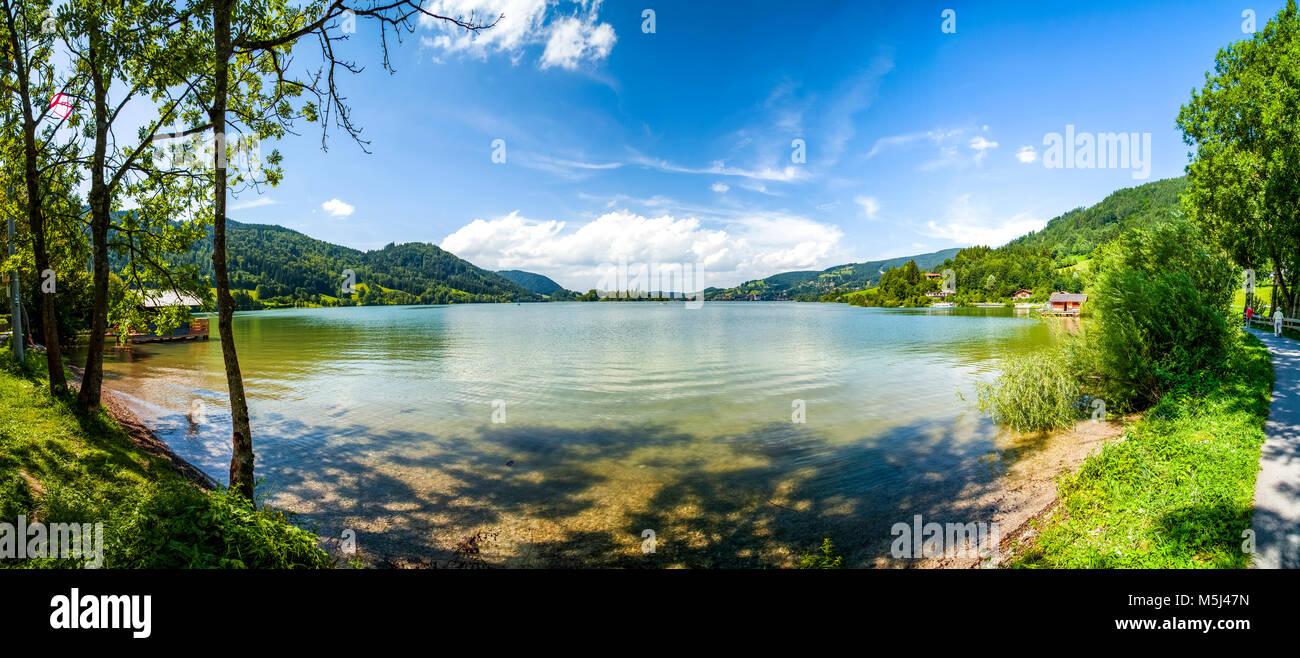 Deutschland Bayern München See Schliersee Stockfoto Bild
