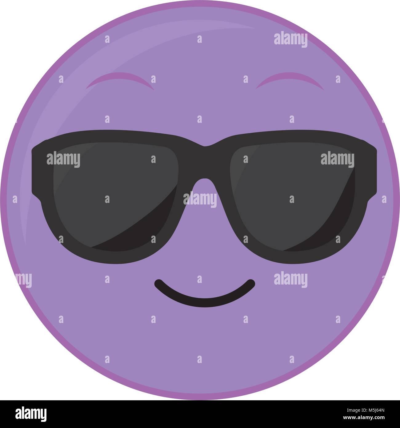 cooles Gesicht Emoji