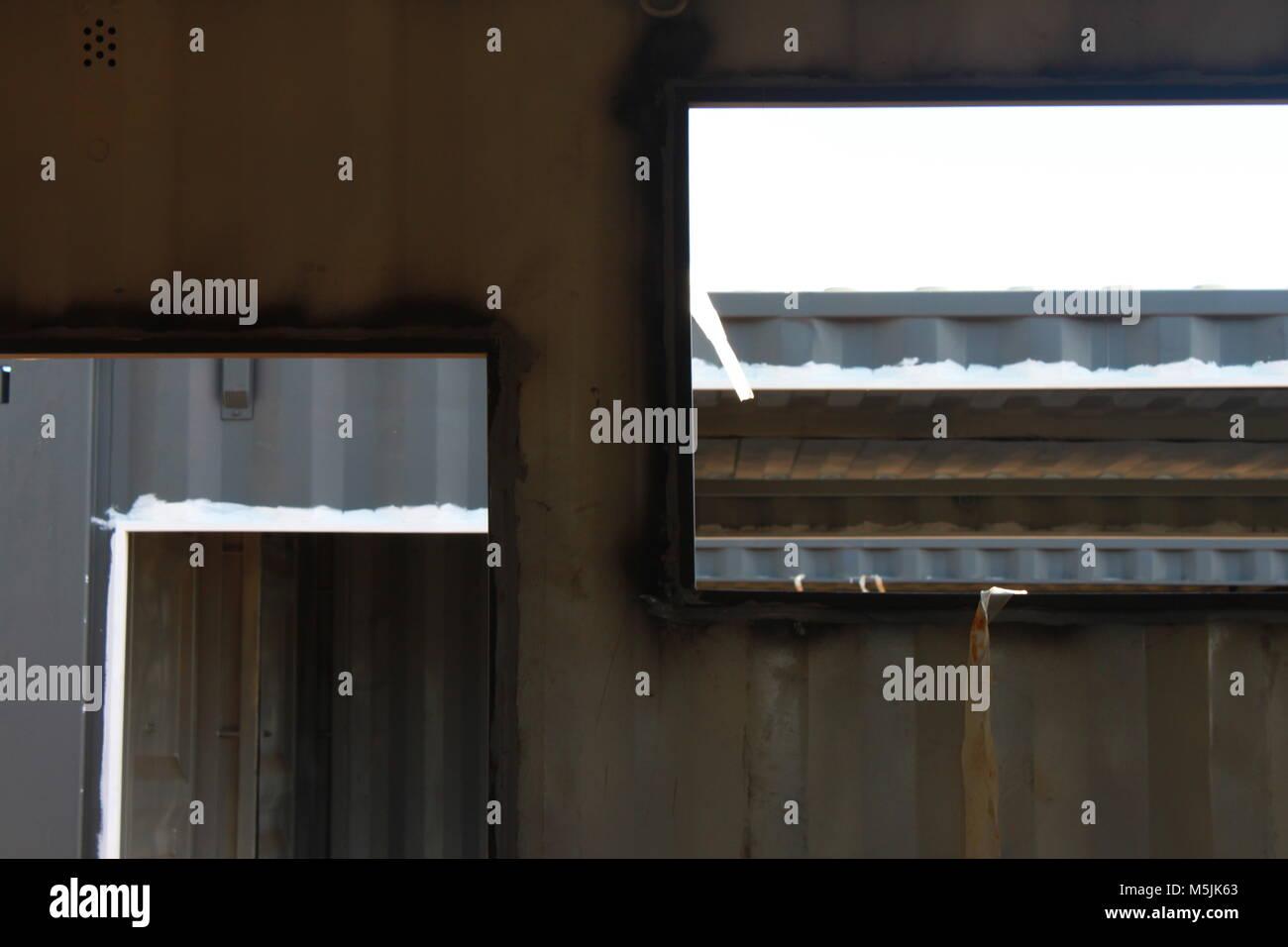 Behälter- Stockbild