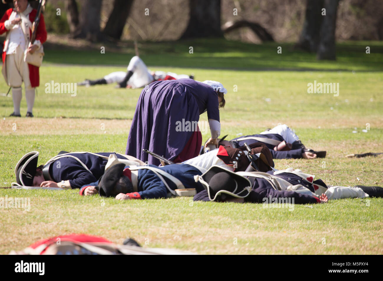 Wounded Soldiers Stockfotos & Wounded Soldiers Bilder - Alamy