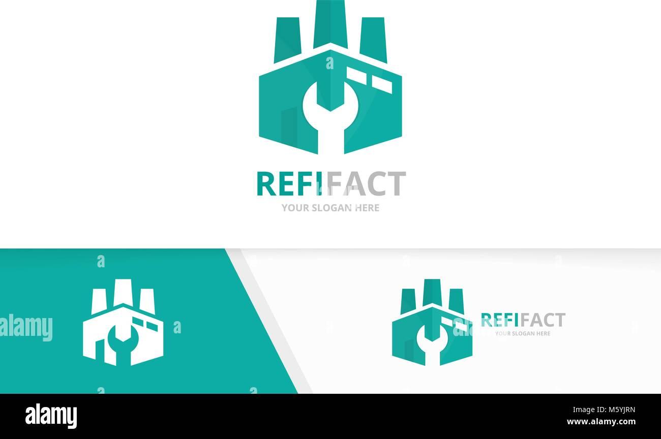 Repair Construction Vector Logo Design Stockfotos & Repair ...