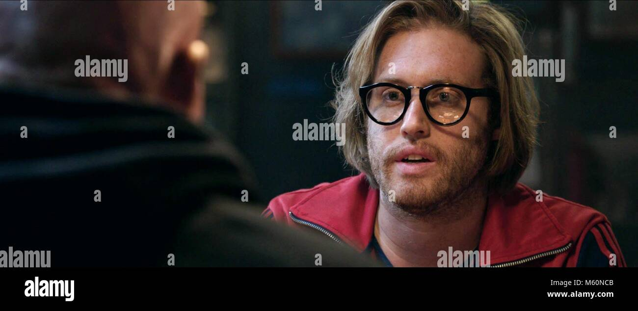 T.J. MILLER DEADPOOL (2016) Stockbild