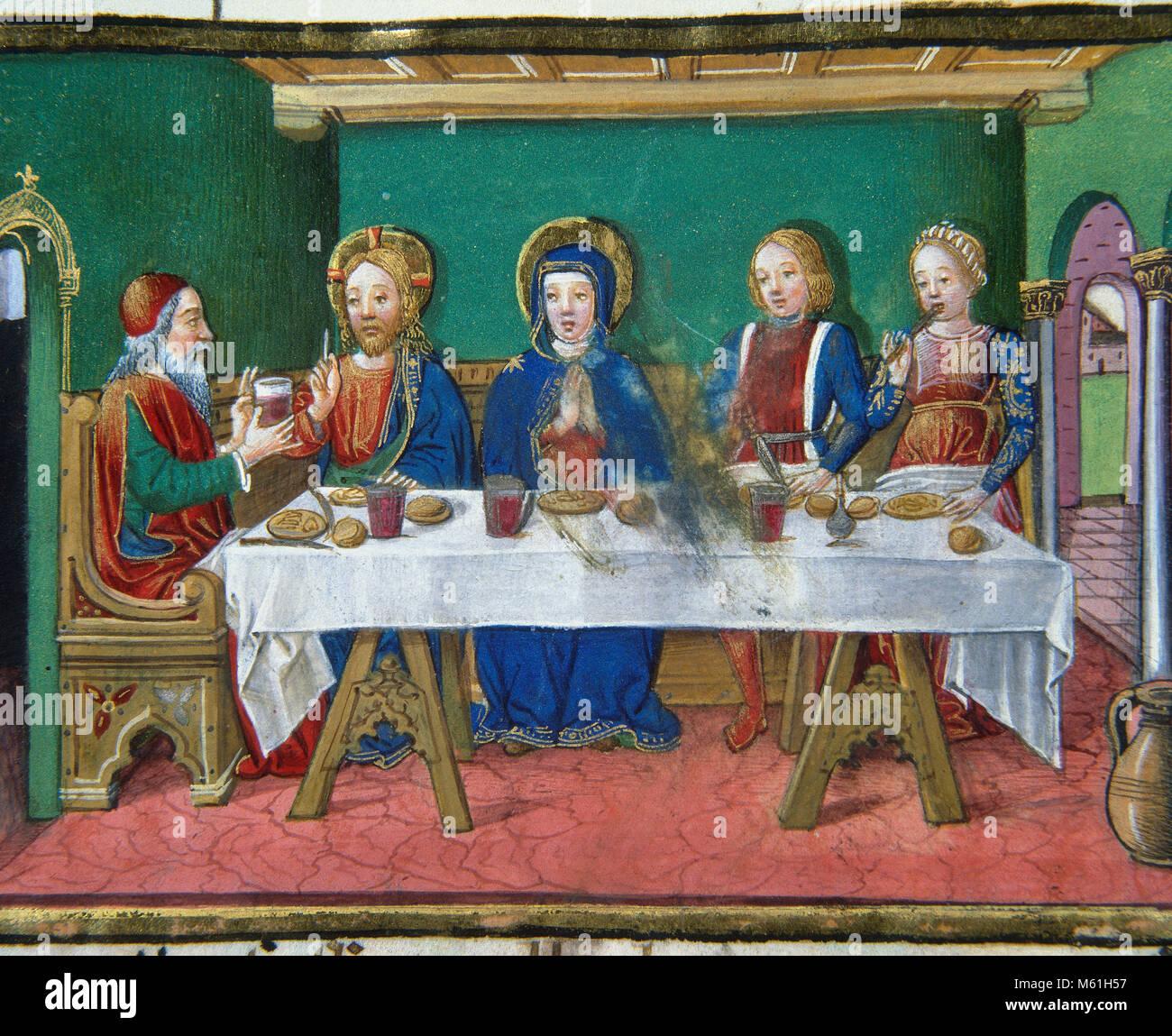 Die Hochzeit Zu Kana Die Verwandlung Von Wasser In Wein Bei Der