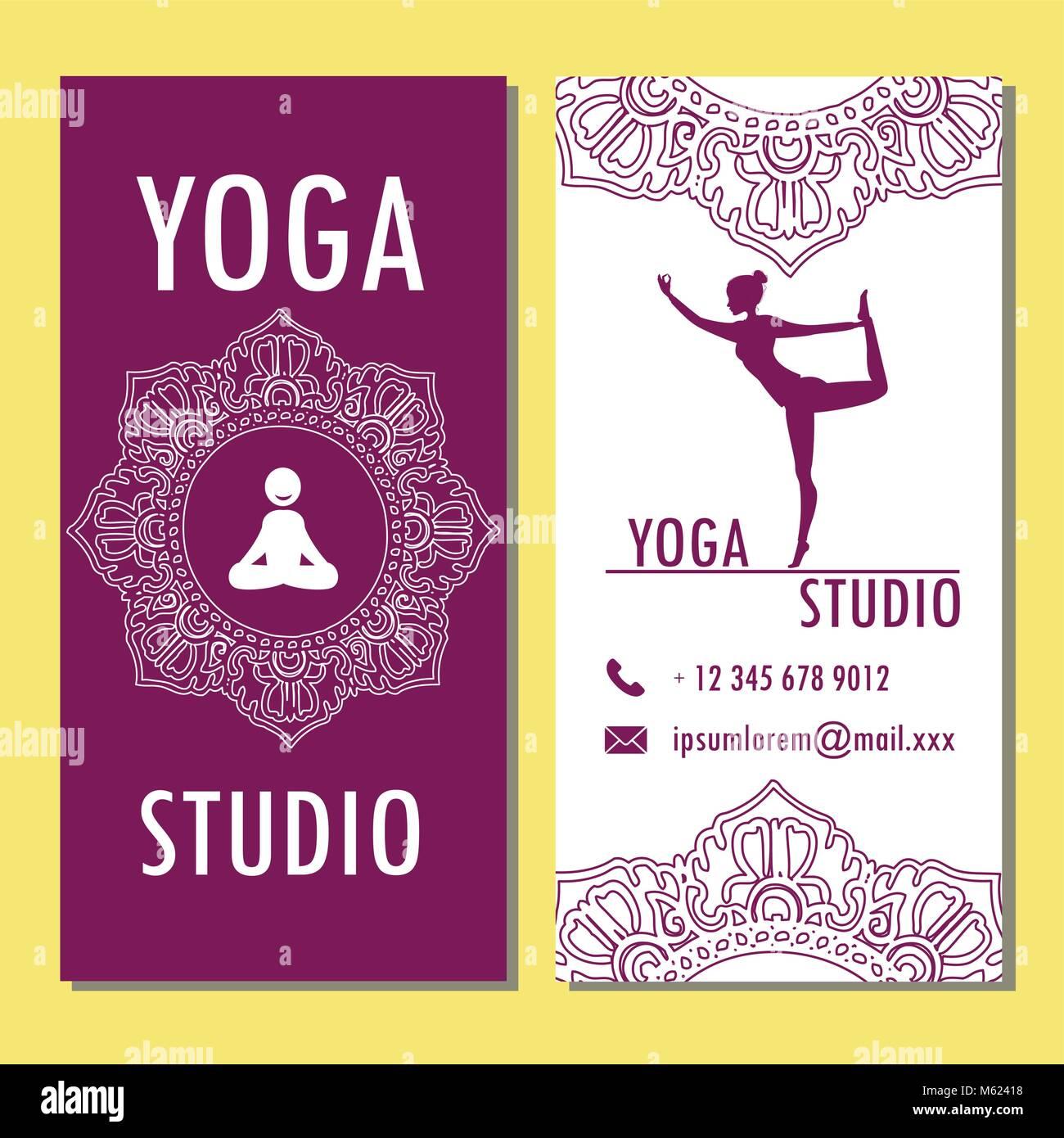 Großartig Yoga Broschüre Vorlagen Zeitgenössisch - Beispiel Business ...