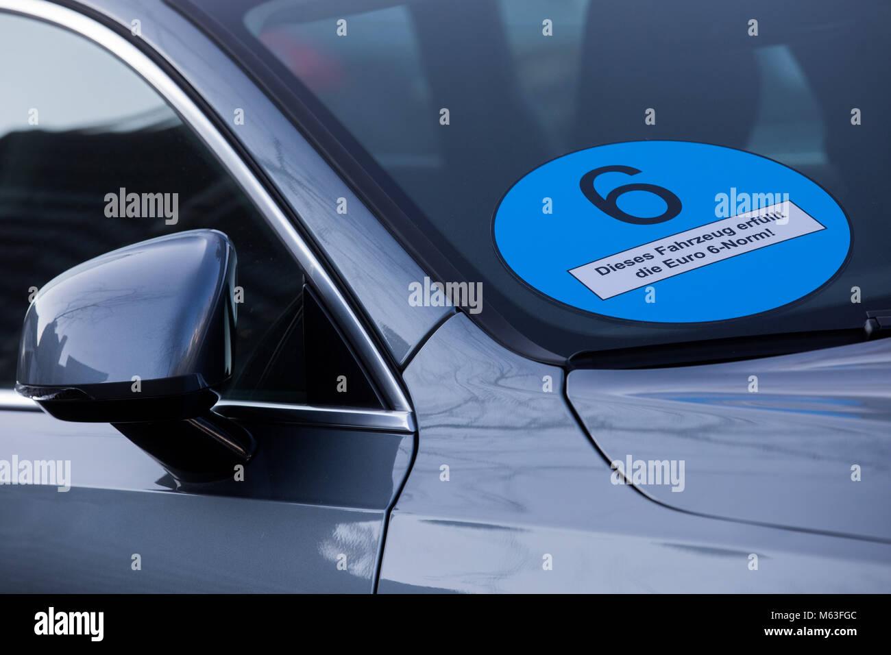 Köln Deutschland 28 Feb 2018 Ein Auto Hersteller Werbung