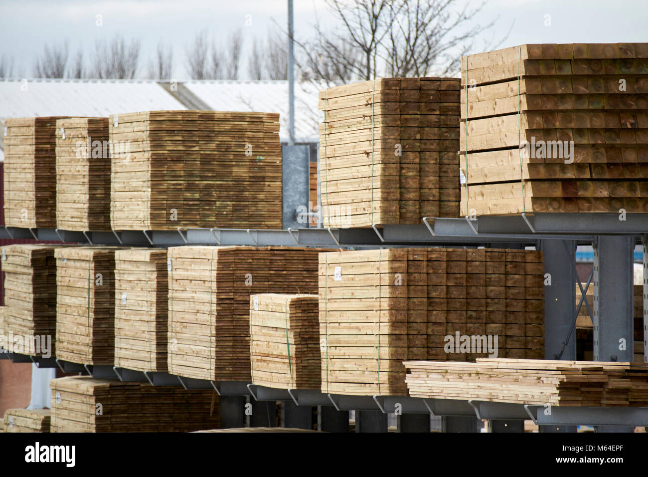 Building Materials Timber Stockfotos & Building Materials Timber ...