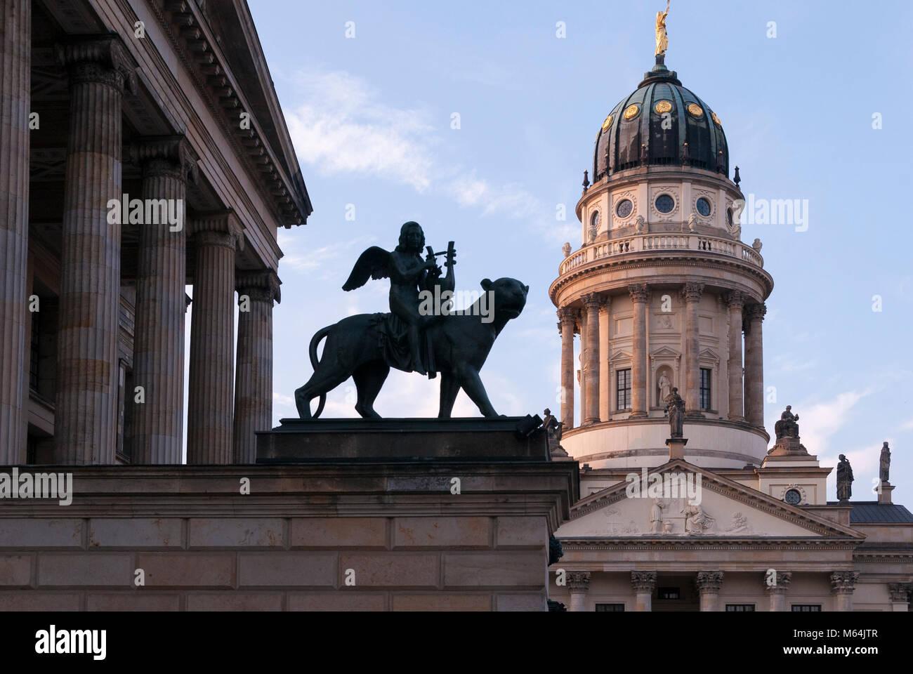 Gendarmenmarkt, Berlin, Deutschland, Europa Stockbild