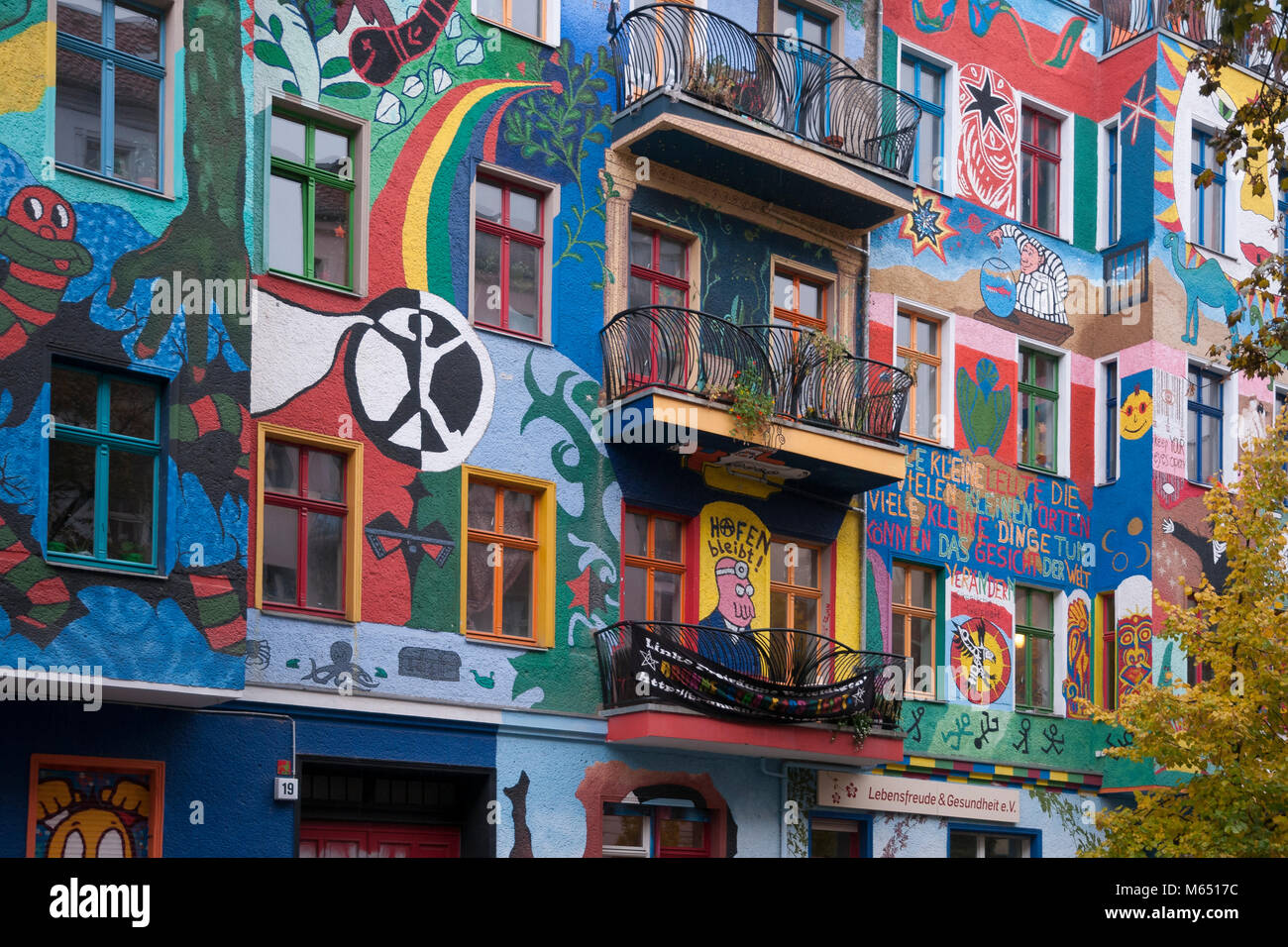 Awesome Hausfassade In Berlin, Deutschland, Europa Stockbild