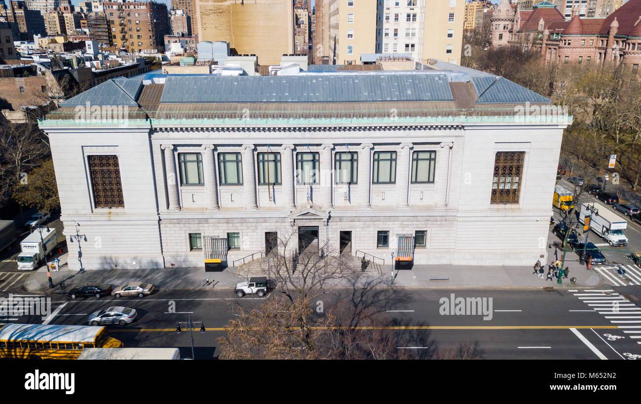New-York Historical Society Museum und Bibliothek Stockbild