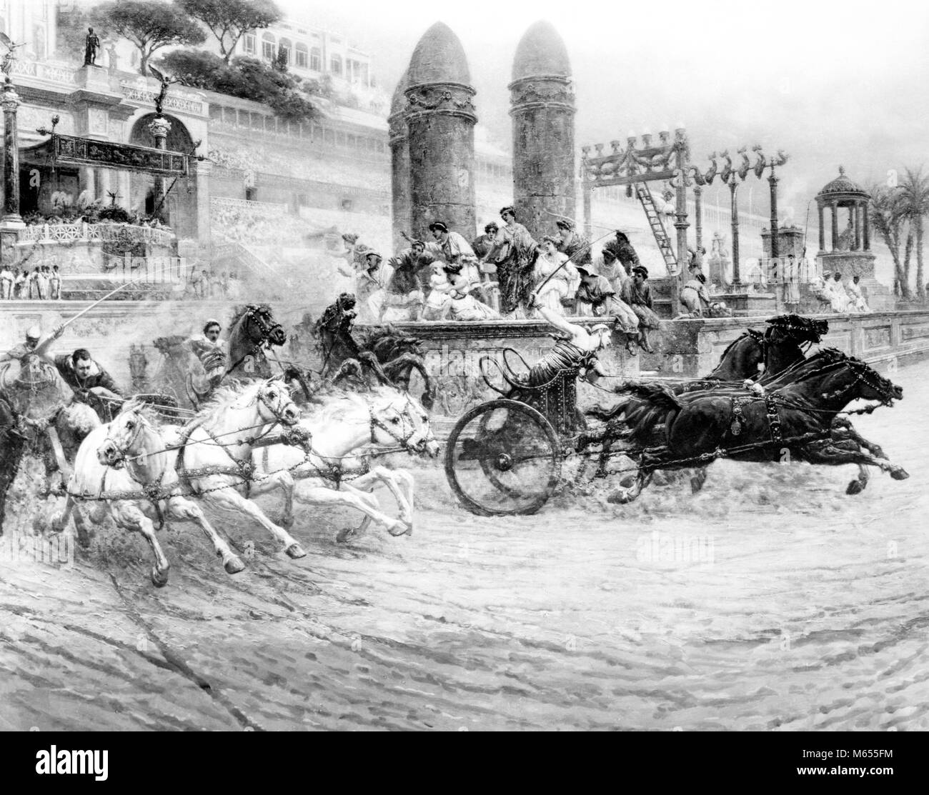 Circus Maximus Wagenrennen